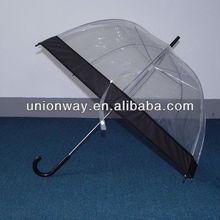 EVA transparent umbrella / clear umbrella / pvc umbrella
