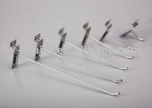 Metal Eur Single Slatwall Hook