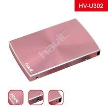Hot sale dust-proof design USB 2.5'' external HDD Metal Hard Disk HV-U302 for computer