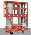 metro 10 aprobado por la ce de doble mástil de plegable del brazo de elevación de aluminio de camiones