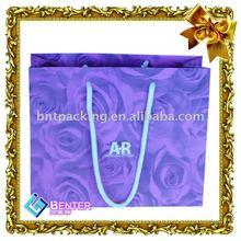 2014 Hiqh quality printing chevron paper bags for shopping