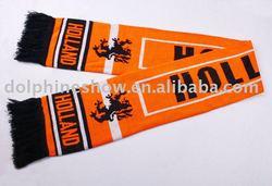 woven fan scarf