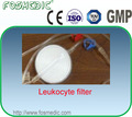 bolsa de sangre desechable con leukocyte con filtro