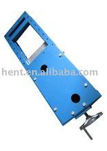 Manual slide gate