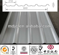 1025 Colored Steel roofing material