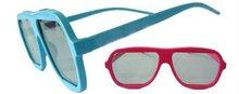 3D glasses Plastic 3D glass circular polarized