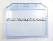 soft plastic business id card holder