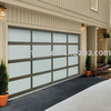 Sectional Aluminum Frame Sectional Glass Cheap Garage Doors