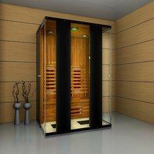 infrared sauna room (Model R02-K1) red cedar wood