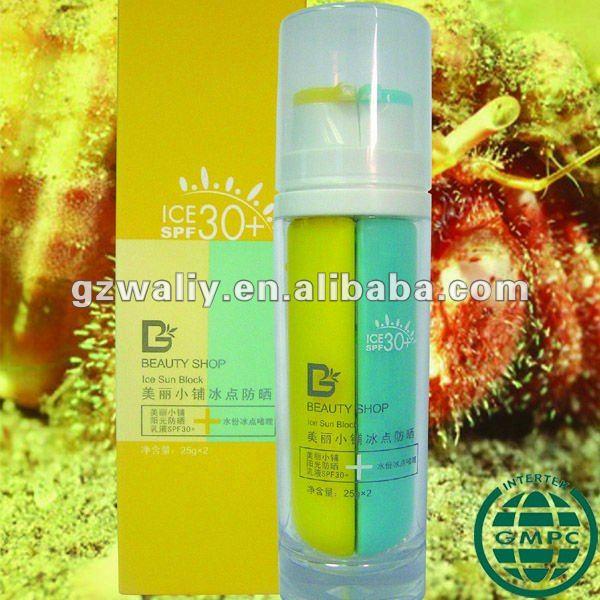 Moisture Freezing Gel & Sunblock