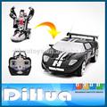 rc brinquedo carro controle de rádio transformam robô de brinquedo