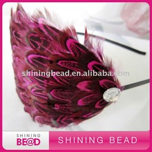 Hot sale fashion feather hair band