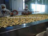Full Automatic Fried potato chips machine