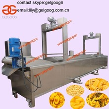 Continuous Deep fryer potato fryer deep fryer oil filter machine