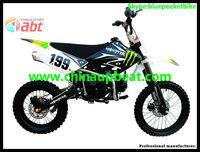 125CC Dirt bike 4 stroke kick start