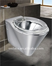 Stainless Steel Wall Hung Toilet SG-5125C-2