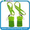 2014 promotional gift cheaper Mobile phone lanyard with elastic pouch