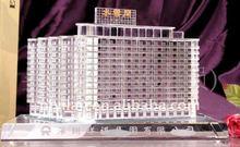 elegant glass crystal building,crystal 3d building model souvenir