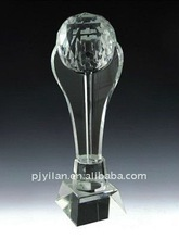 great elegant crystal golf ball trophy cup trophy sports medal & trophies