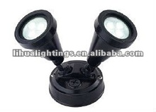outdoor Double Security Spotlight with 3W led