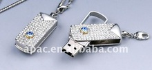 large capacity necklace usb flash with lower factory price