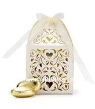 Hot 2013 wedding laser cut filigree favor gift boxes