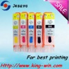 wholesale high quality refillable ink cartridge for HP/Canon printers