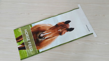 wpplaminated woven poly,bopp laminated and printed woven polypropylene horse feed bag