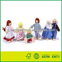 Fashion Wooden Doll