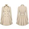 fashion parcel button crocheted ladies long coats 2014