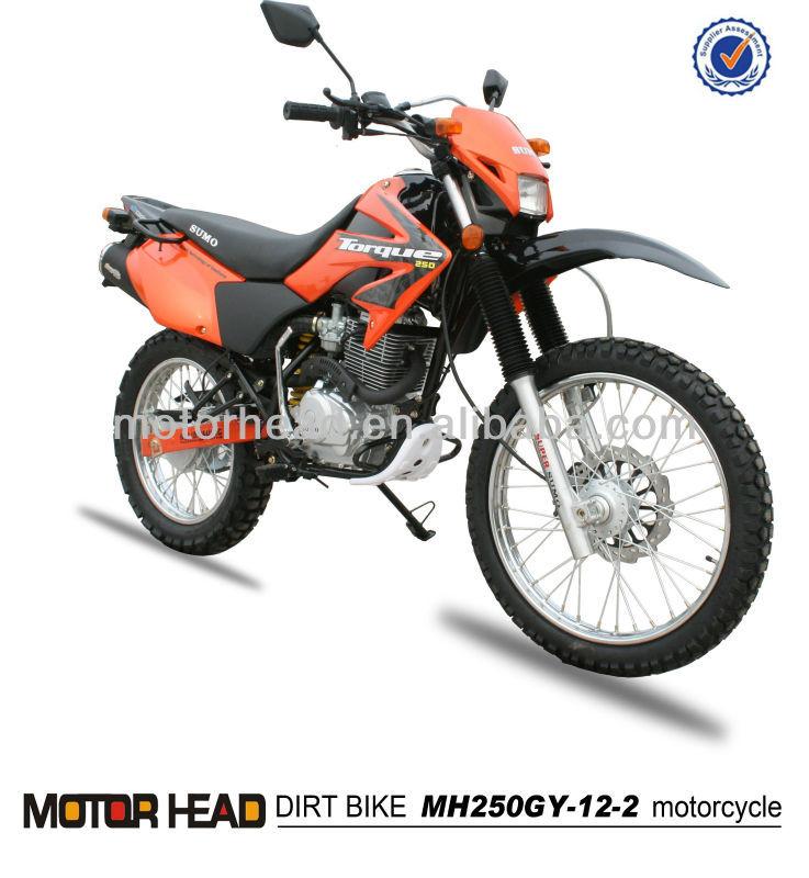 dirt bike 250cc CBengine MH250GY-12 motorcycle