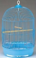 decorative round mini Wire Bird breeding Cage for wedding