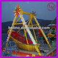 Los niños juegan paseos cubierta! Divertido parque de atracciones barco pirata