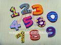 مخصص ملون الترويجية الحساسة الحروف الأبجدية المغناطيسي للأطفال