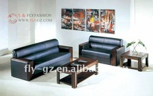 Conference room sofas/ conference leather couches OF-02