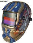 Auto darkening welding mask helmet