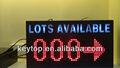 P10 cor dual slot exposição/nível contando tela led/chão exposição conduzida/vms