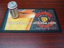 Estera de la cerveza de impresión de goma cerveza esteras de goma plato esteras/alfombrillas comprar al por mayor de cerveza de goma suave estera de la barra de goma de caucho esteras/alfombrillas esteras/alfombrillas fregadero
