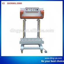Pneumatic plastic bag Sealer QLF700A rice / grain bag sealing machine
