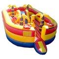 Enfants gonflables parcours d'obstacles/gonflables aire de jeux pour les enfants