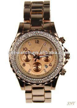 Hot sale fashion alloy watch, Japan movt, up-market watch, men's wristwatch