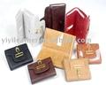Jm048 diseñador de la marca de calidad para mujer billetera de cuero