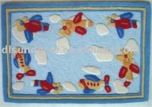 Polyester handmade kids rugs