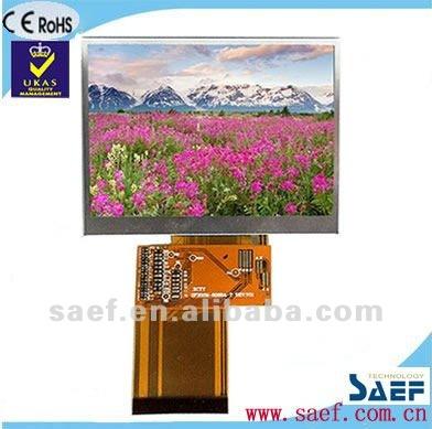 "3.5""TFTdisplay screen 320x240 dots with touch screen RGB interface LCD module"