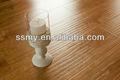 Lavé chêne. ac3 conique. de grain de bois hdf revêtement de sol stratifié