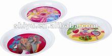Plastic Dishes and Plates, Diameter 20cm