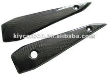 Carbon fiber parts side cover