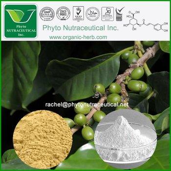 98% Chlorogenic Acid Green coffee bean Extract