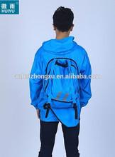 pretty kids raincoat kids pvc rain coat for children for kids backpack rain coat