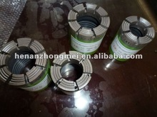 diamond crowns with drill rod for wireline coring
